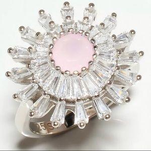 Handmade Vintage Madagascar Rose Topaz Ring